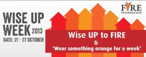 Fire Foundation Wise up Week